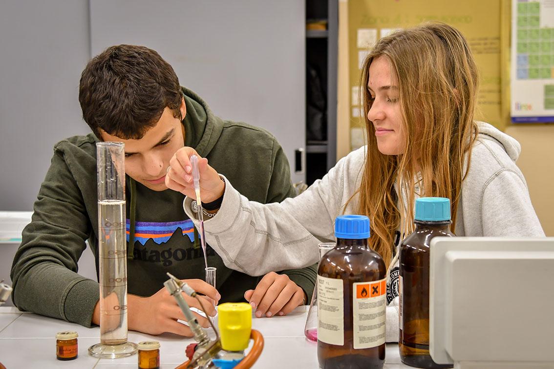 laboratorio chimica
