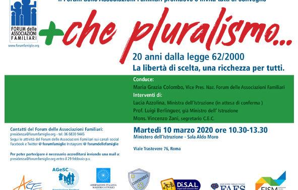 Convegno più che pluralismo