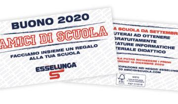 """Buoni """"Amici di Scuola"""" – Esselunga"""